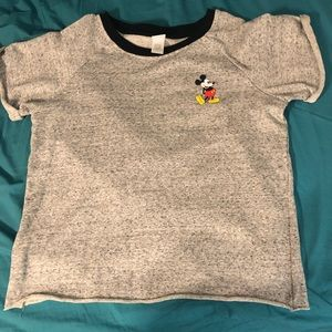 Crop top Mickey Mouse sweater